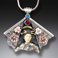 Zealandia Geisha jewelry, geisha necklace
