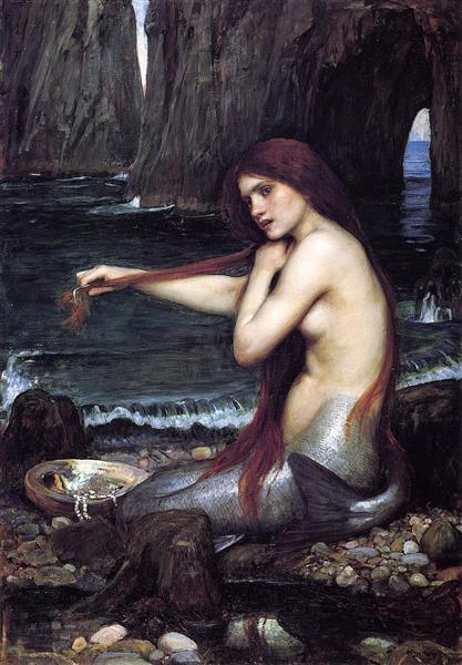 A Mermaid, by John William Waterhouse