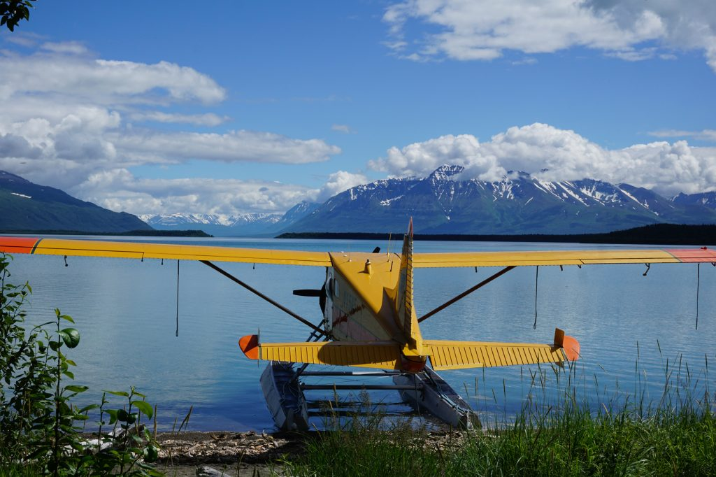 Brooks camp Katmai Alaska
