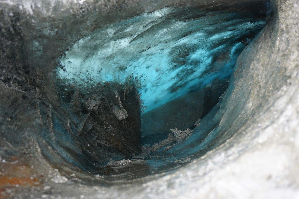 Blue ice Matanuska Glacier, Zealandia Designs