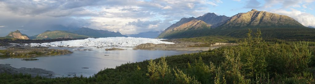 Matanuska Glacier distant view