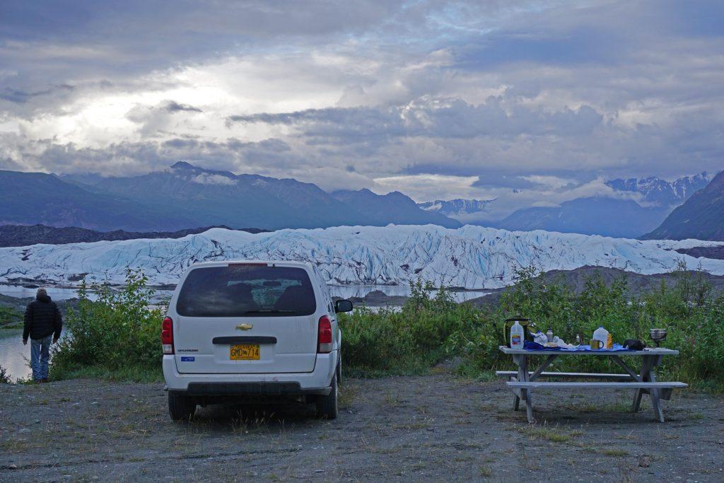 Matanuska Glacier camping, Zealandia Designs