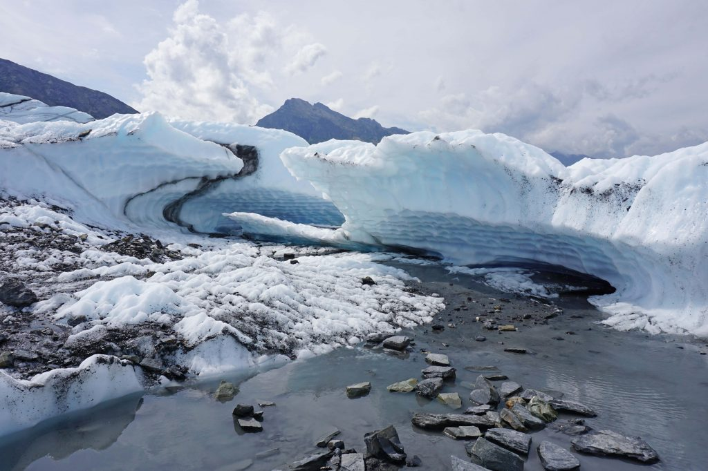 Matanuska Glacier up close