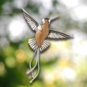 hummingbird jewelry hummingbird pendant