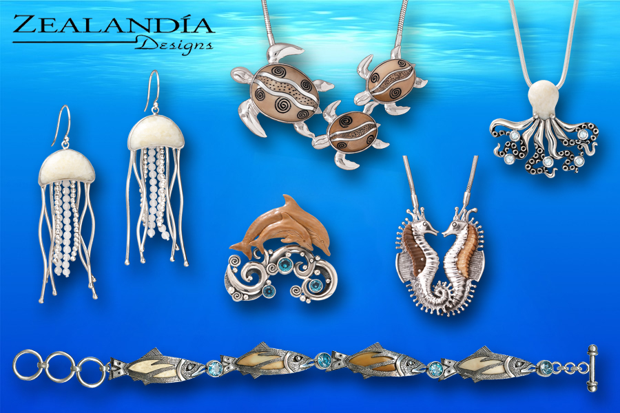Zealandia Designs Ocean Jewelry Collection