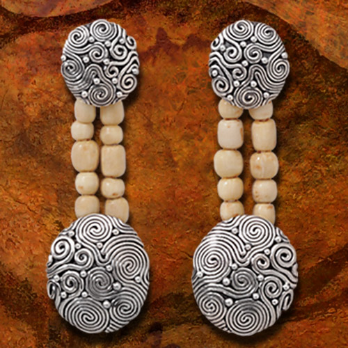 Ancient Ivory Beads