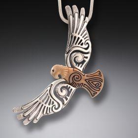 Zealandia Silver Eagle Pendant