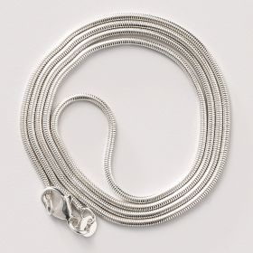 24 Inch Sterling Silver Snake Chain