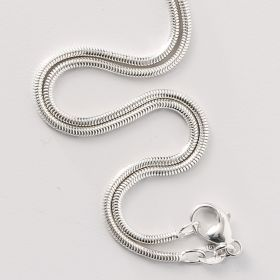 30 Inch Sterling Silver Snake Chain