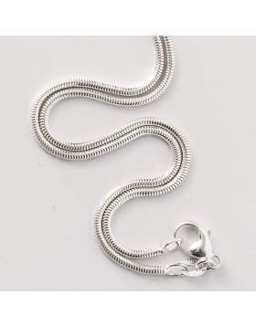 18 Inch Sterling Silver Snake Chain