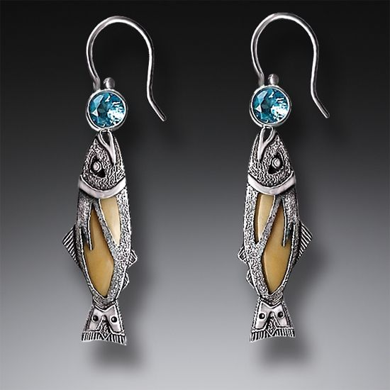 83c7d57e9 Christian Fish Earrings - Best All Earring Photos Kamilmaciol.Com