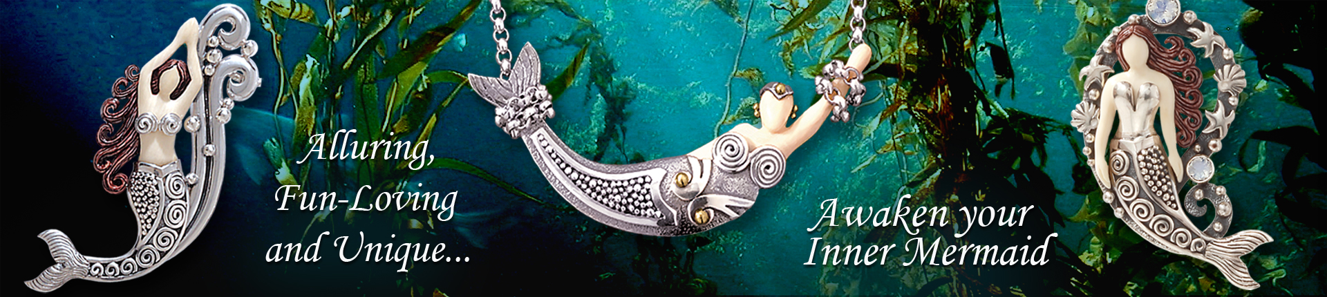 Zealandia sterling silver mermaid jewelry