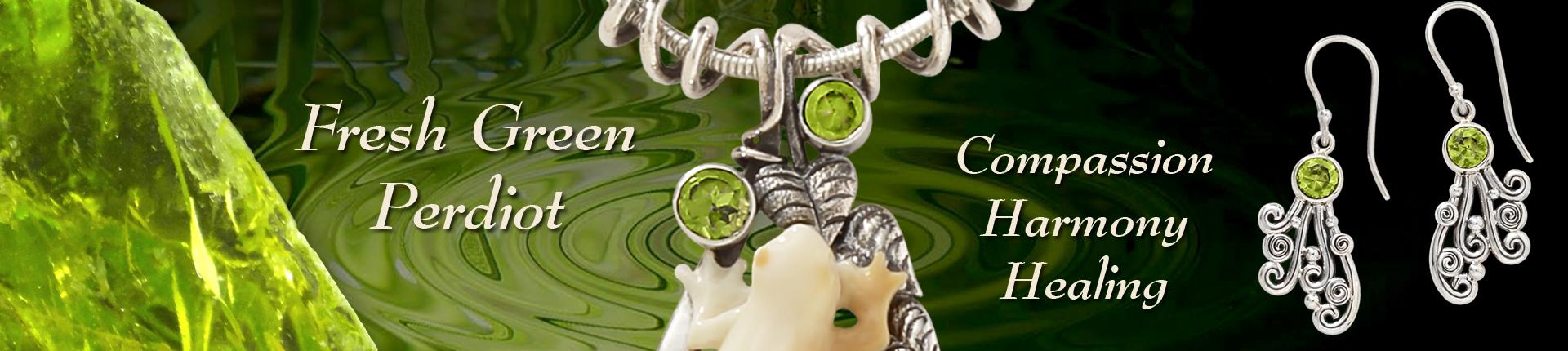 Zealandia peridot jewelry