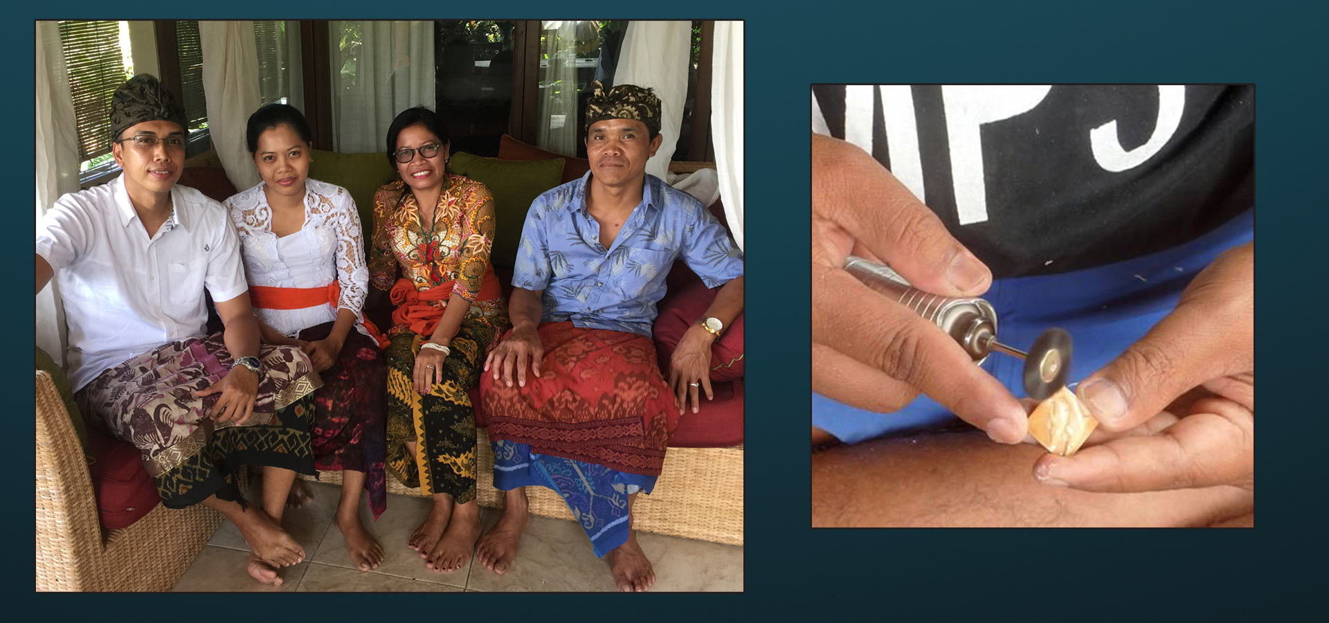 Zealandia Designs jewelry, Bali team