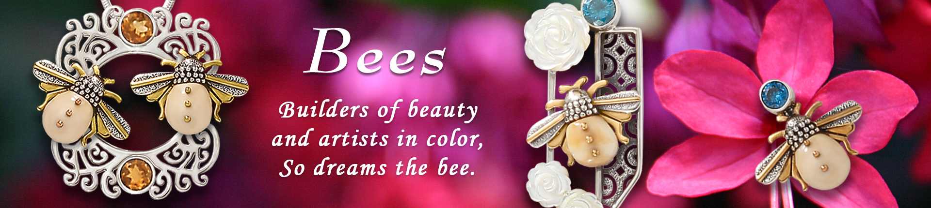Zealandia Bee Jewelry Collection