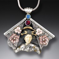 Zealandia Geisha jewelry, geisha necklace