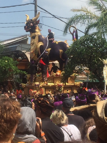 Bali funeral bull, Zealandia Designs jewelry