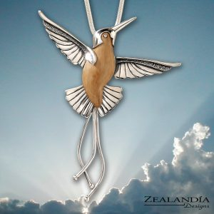 Zealandia Designs hummingbird pendant